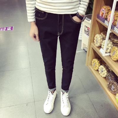 哥莱仕 时尚精致修身型男牛仔裤 A38