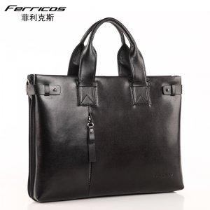 【菲利克斯】精品男包时尚大方单肩包休闲男包单肩斜跨包手提包包 F60027-1