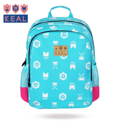 科爱KEAL 超轻防水1-3-6年级减负护脊儿童书包 K11