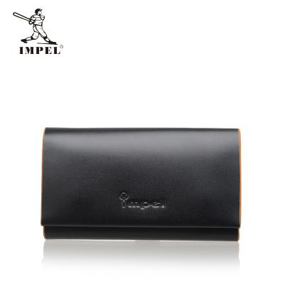IMPEL2016新品 时尚商务 男士牛皮竖款钱包 Yb(98)A