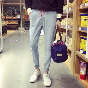 哥莱仕 时尚精致修身型男牛仔裤 A...