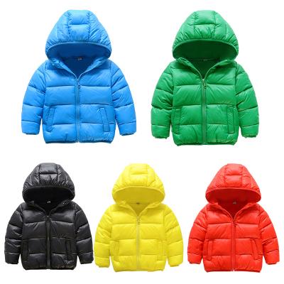 YGTND07103 五色棉衣 一件代发童装男女童棉服儿童棉袄2017冬装新款男孩韩版棉衣外套潮