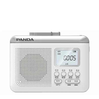熊猫 F-381 磁带转录TF卡便携式锂电池充电复读机可当电脑音箱