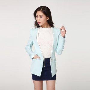 【特价包邮】波比莉娅 梭织时尚小西装外套 86001