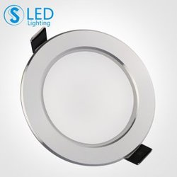 S3S 客厅LED筒灯2.5寸8公分天花灯3W5W超薄全套节能防雾筒灯