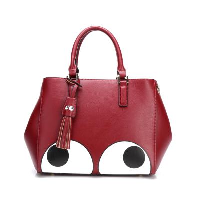 Redants红蚂蚁 时尚大眼睛印花图案手提斜挎包