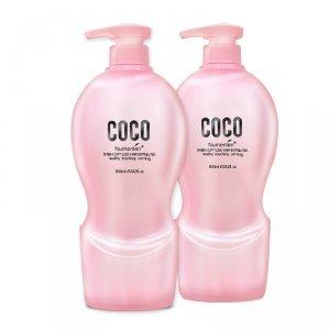 正品 可可香型800ml*2清爽控油去屑止痒 洗发水护发素套餐包邮