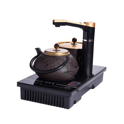洪跃 茶具套装 STM-216(铁炉+铁壶+底座三件套装)