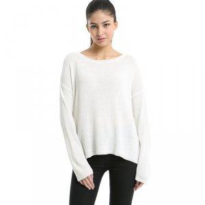 卡娅米娅 新款韩版超薄棉麻针织衫 S1520043