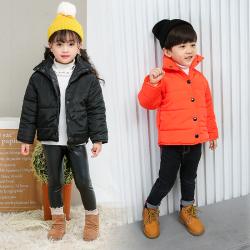 AQQ06803 AQ-立领棉衣 一件代发秋冬装儿童羽绒棉服男童女童棉衣宝宝中小童棉袄外套立领