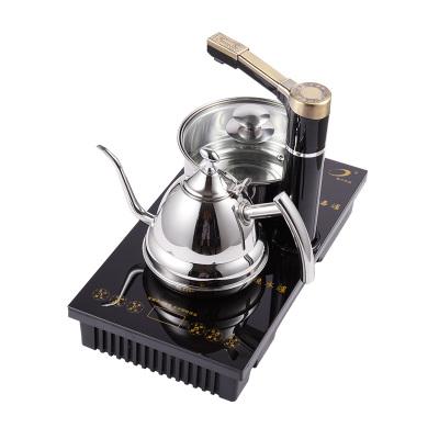 洪跃 茶具套装 STM-217(壶+锅+底座三件套装)