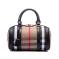 米尔 欧美时尚格子帆布手提包 7330