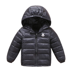 GLTZ2D013-1 604米奇棉衣外套 一件代发秋冬新款米奇儿童轻薄款羽绒棉服男童女童连帽保暖外套