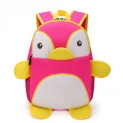 【卡卡希】儿童书包可爱韩版男女童幼儿园包大班小班学前班旅游背包 企鹅 KK011
