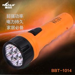 彩诗 手电筒 BBT-1014 雷劲尔强光LED手电筒/双档/7灯(先4后7)