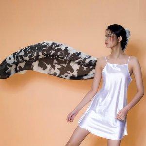再艺术 李纲艺术衍生品羊毛丝巾 YM1501HB08