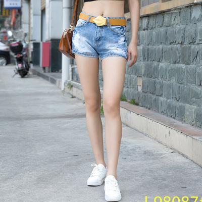 金钥匙 牛仔短裤 J98087