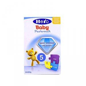 【大大小小】海外正品原装进口母婴进口荷兰美素Herobaby婴幼儿奶粉5段700g*2(2岁以上)