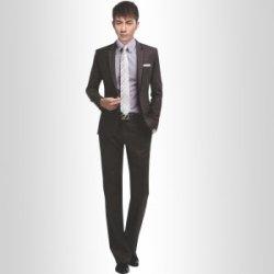 2014新款男西装韩版修身商务西服职业商务套装
