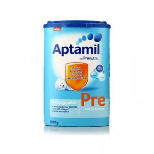 【大大小小】海外正品原装进口德国爱他美Aptamil婴幼儿奶粉pre段800g*2(0-3个月)
