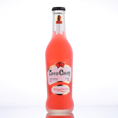 爱色 白兰地果汁鸡尾酒 草莓味