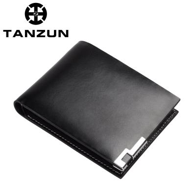 TANZUN/天尊 时尚商务休闲 经典牛皮男士钱包 1021
