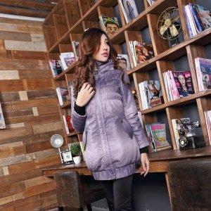 【桦装】时尚款棉衣外套特色保暖大领 6167H