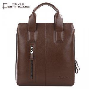 【菲利克斯】商务休闲男士单肩包斜跨包休闲包公文包 F67975-2