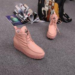 凯妮乐    2016春季新款潮女鞋 时尚真皮鞋 内增高厚底松糕鞋 KN1351