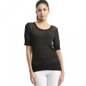 卡娅米娅 新款韩版超薄棉麻针织衫 S1520038