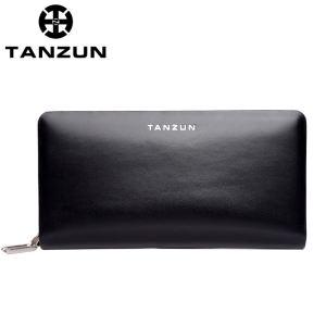 TANZUN/天尊 商务时尚牛皮男...