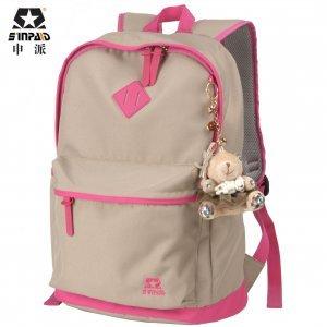 韩版时尚双肩背包 女中学生书包防水防水小学生书包 AD-400