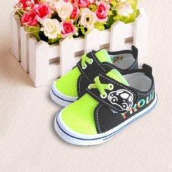 2016款童鞋荧光绿童鞋网布透气板鞋卡通车男童鞋潮帆布鞋韩版童鞋