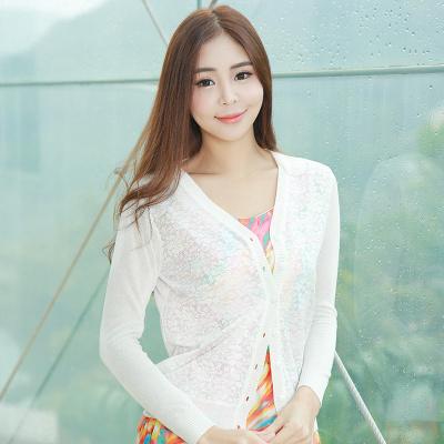 RUIDY 蕾丝花针织衫 RY6429