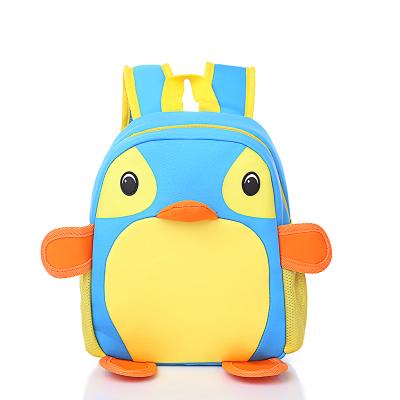 科迪 可爱时尚潮流企鹅儿童背包 002