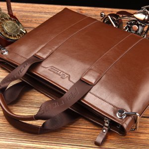 【菲利克斯】英伦商务风时尚休闲单肩包斜跨包手提包公文包包 FE62012-1