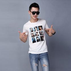 "GUAN YI BOY 夏季男装个性潮流青年时尚<span class=""gcolor"">短袖T恤</span> 107#"