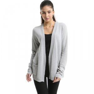 卡娅米娅 新款韩版超薄棉麻针织衫 S1520044