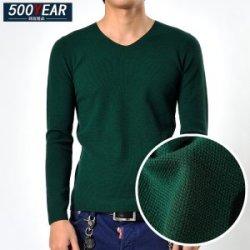 【阳光源】新款毛衣2016最新款男装提花韩版薄款修身纯色长袖V领毛衣针织打 9100