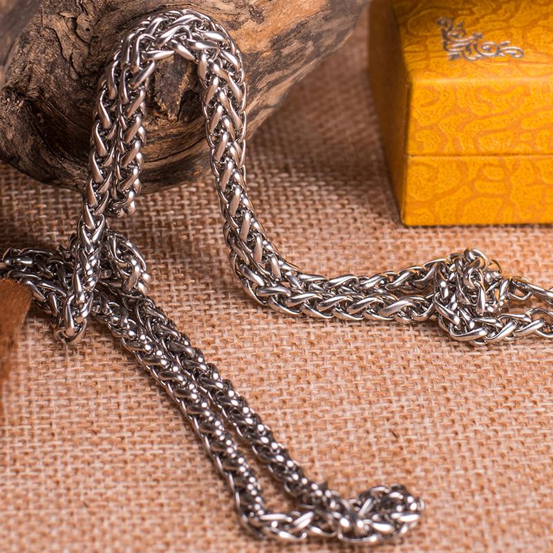 诺珀饰品 日韩时尚新款钛钢链 钛钢链-2