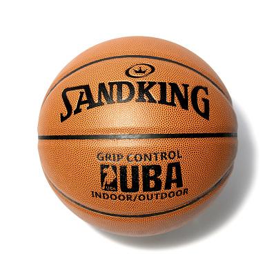 正品SANDKING经典UBA比赛球7号PU篮球 74-501