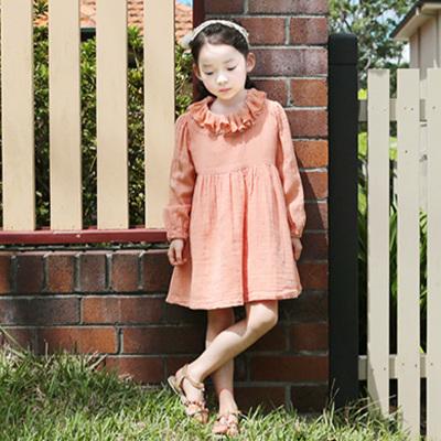 Kimi sun 蕾丝花边领连衣裙 SN-032