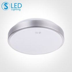 S3S照明 吸顶灯现代简约led灯 高亮灯具 卧室阳台过道灯 带光源