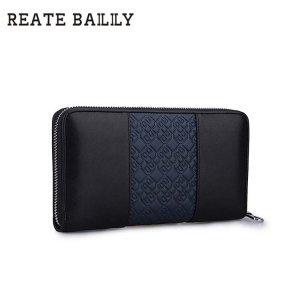 REATE BAILILY格纹手拿包 长款 男士BLA119-2H 包邮